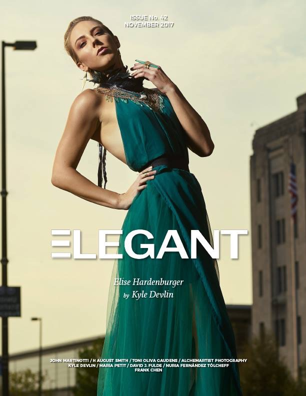 hca cover Ellegant Magazine November 2017